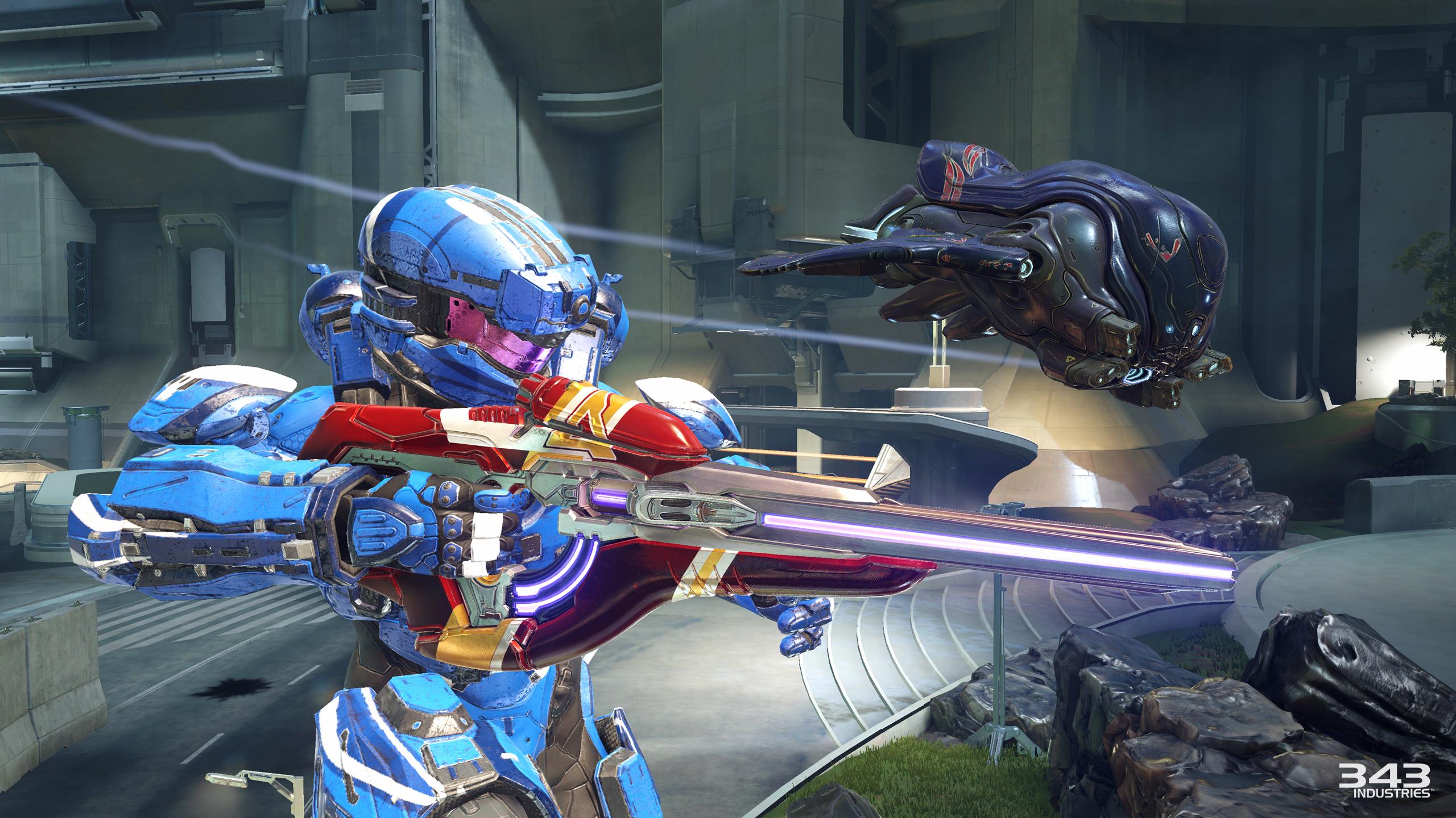 Halo 5 Guardians Warzone Assault Urban Alien Experiments
