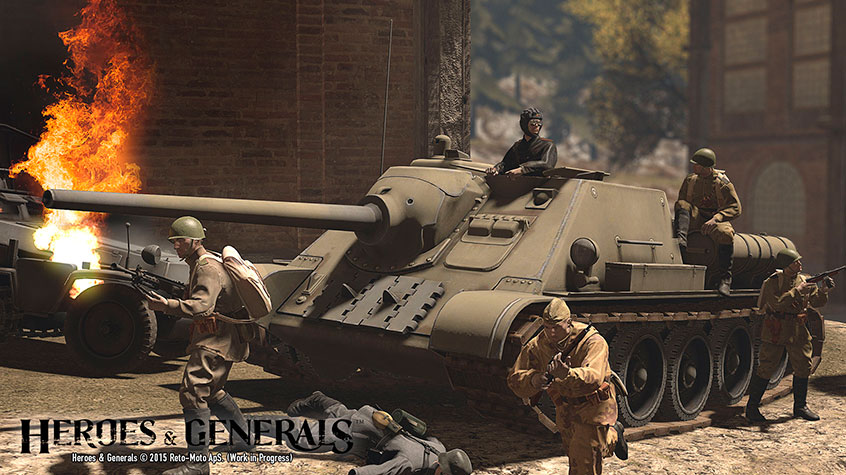 Heroes & Generals Gets a New Game Changing Update