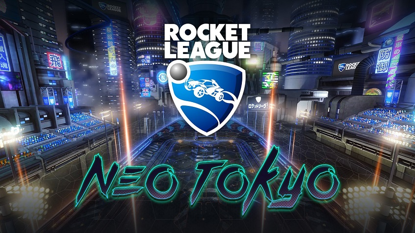 Rocket League Neo Tokyo Map Trailer and Info