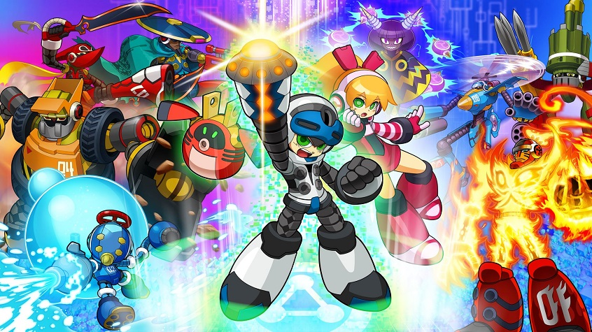 Mighty No. 9 'Ray' DLC Gameplay Trailer