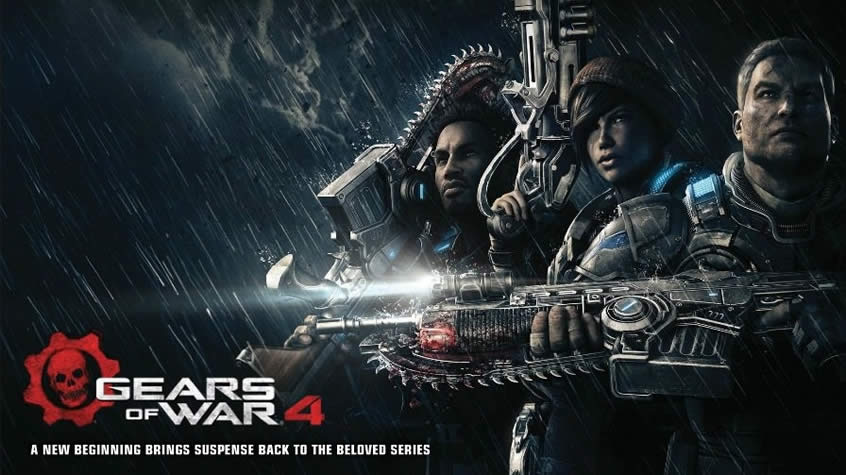 Gears of War 4 gameplay shows new enemies and Marcus Fenix!