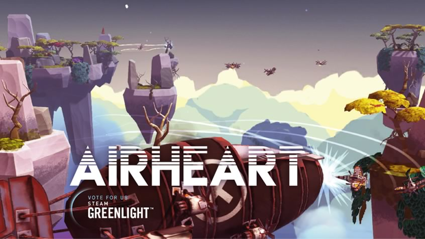 Airheart is on Steam Greenlight Now