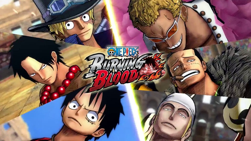 One Piece Burning Blood downloadable characters announced