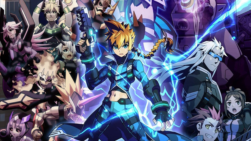 Shovel Knight appears in Azure Striker Gunvolt 2 with use of amiibo