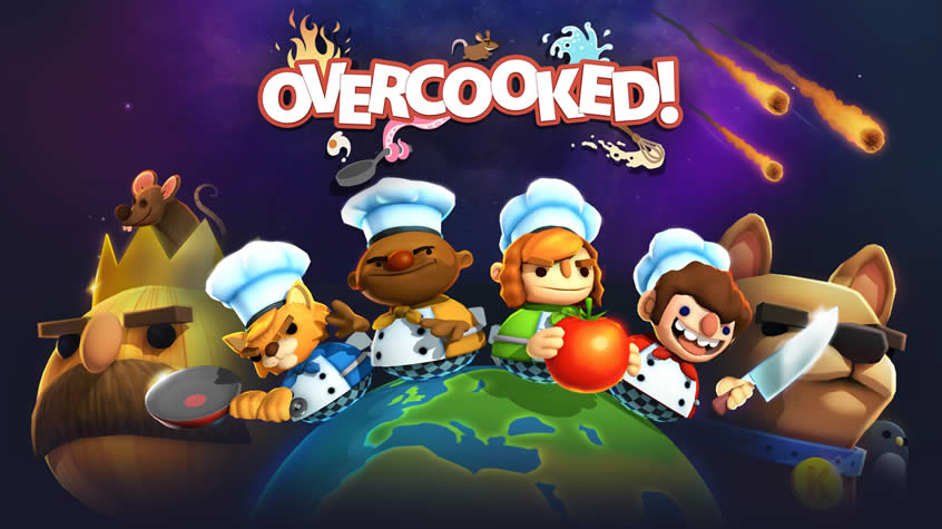 Overcooked to be Released Next Month