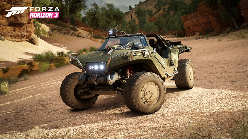 Forza Horizon 3 Goes Gold and Welcomes Halo Warthog