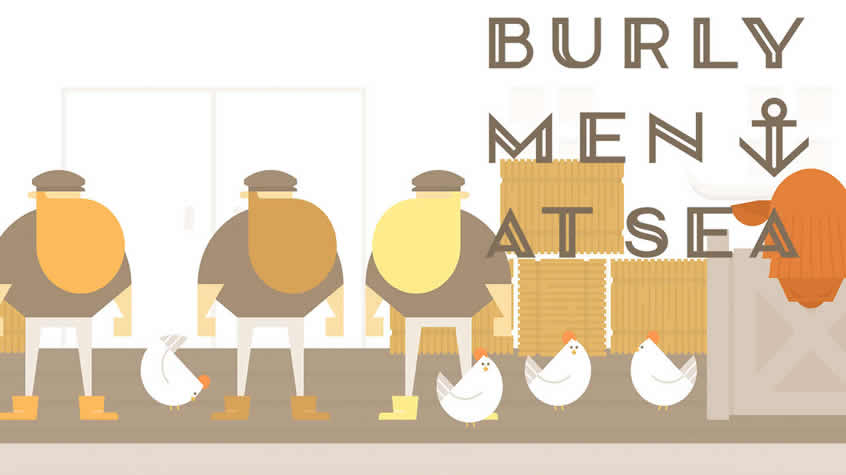 Burly Men at Sea Revealed a New Trailer