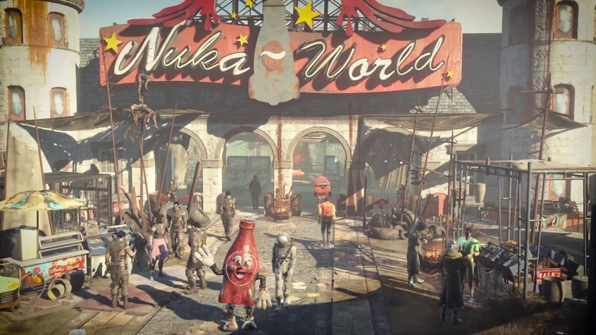 Fallout 4 'Vacationing in Nuka-World' Trailer