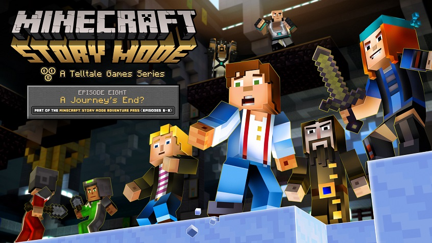 Minecraft: Story Mode Episode 8 'A Journey's End?' Out Now, Launch Trailer