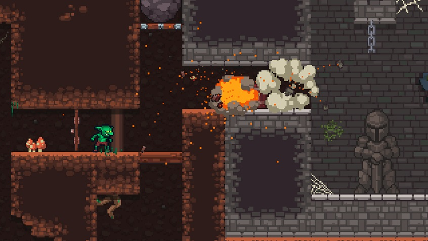 Goblins and Coins is on Steam Greenlight now!