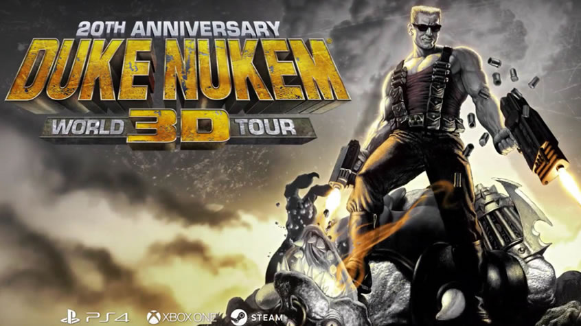 Duke Nukem 3D: 20th Anniversary Edition World Tour is Now Available