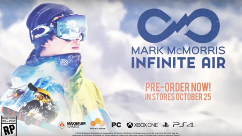 World Editor Feature Revealed for Mark McMorris Infinite Air