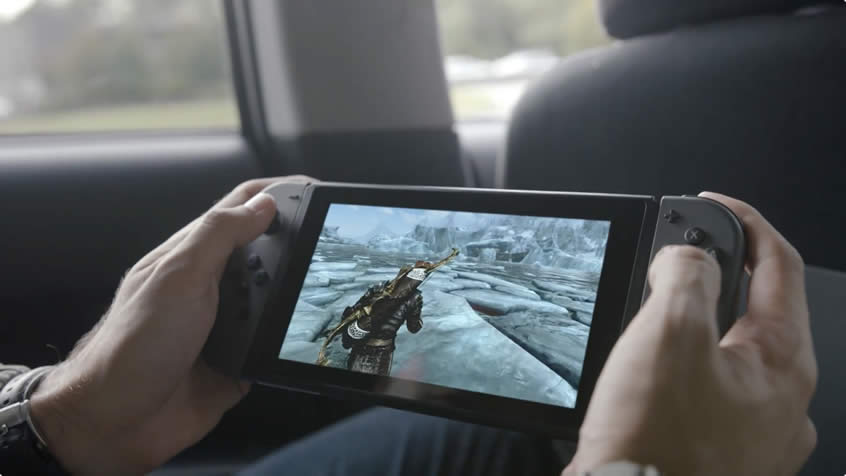 Nintendo Switch Official Technical Specifications Unveiled