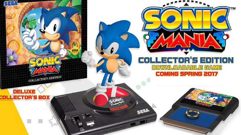 Sonic Mania Collector's Edition is Coming to Europe