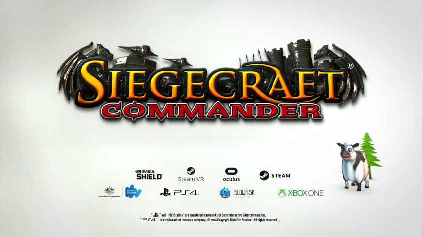 Siegecraft Commander Launches January 17, 2017 on Xbox One, PlayStation 4, PC