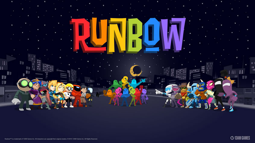 Runbow  Makes its Steam Debut Today