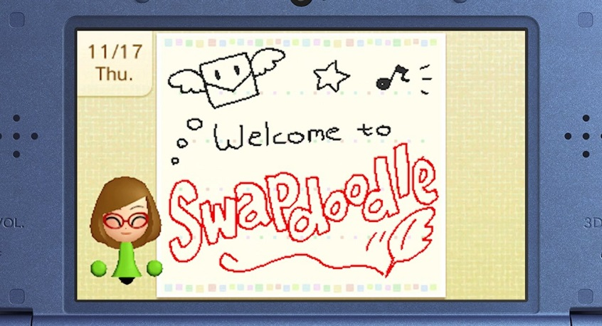 Swapdoodle is out now on nintendo 3DS