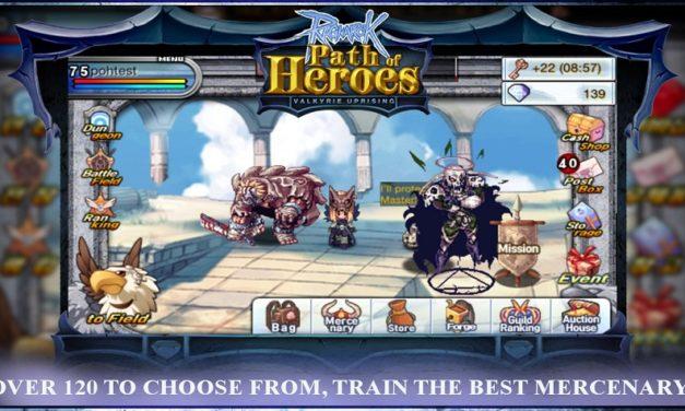 Ragnarok Online: Path of Heroes New Doram Mercenaries