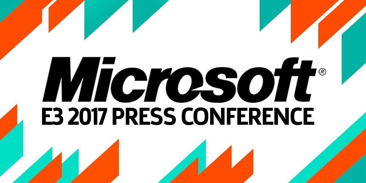 E3 2017 Microsoft Press Conference Review