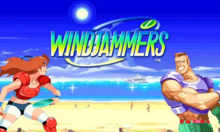 Windjammers is Available Now on PS4 and PS Vita
