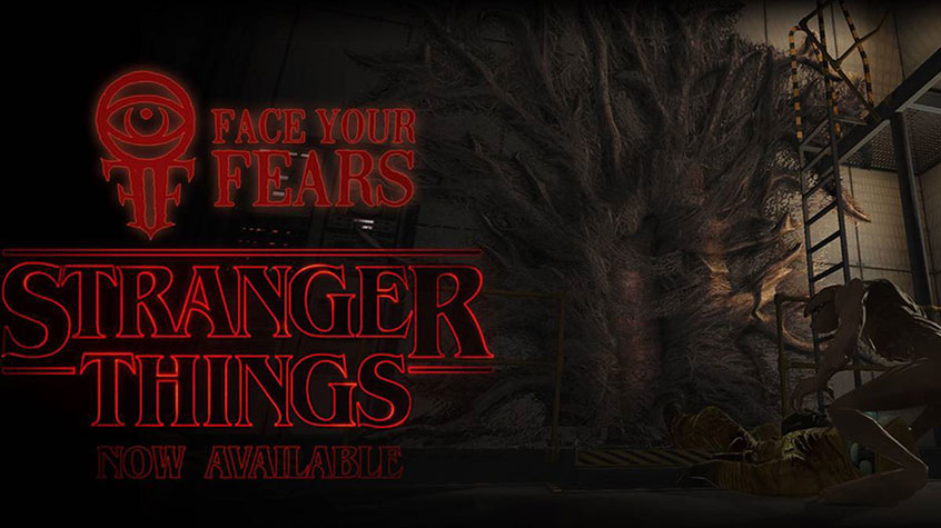 Face Your Fears Vr >> Free Stranger Things Dlc For Face Your Fears On Gear Vr Gaming