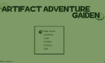Artifact Adventure Gaiden has been released on Playism and Steam