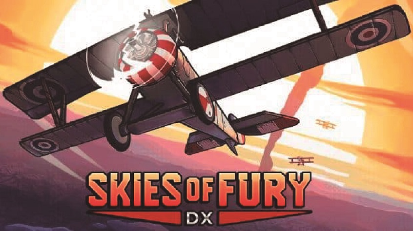 Skies of Fury DX Announced for Switch