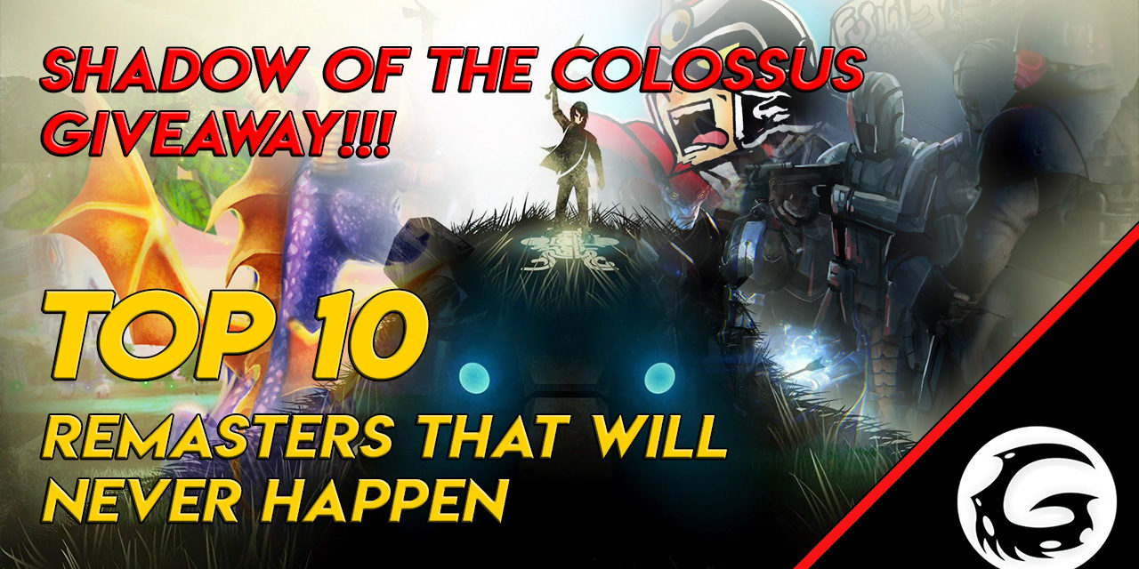 Shadow of the Colossus Giveaway Starting Today!