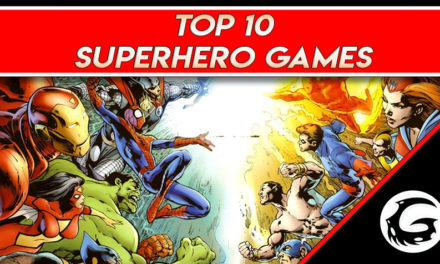 Top 10 Superhero Games