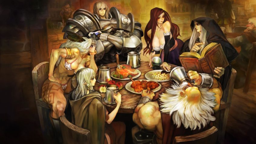 dragon's crown pro character select screen