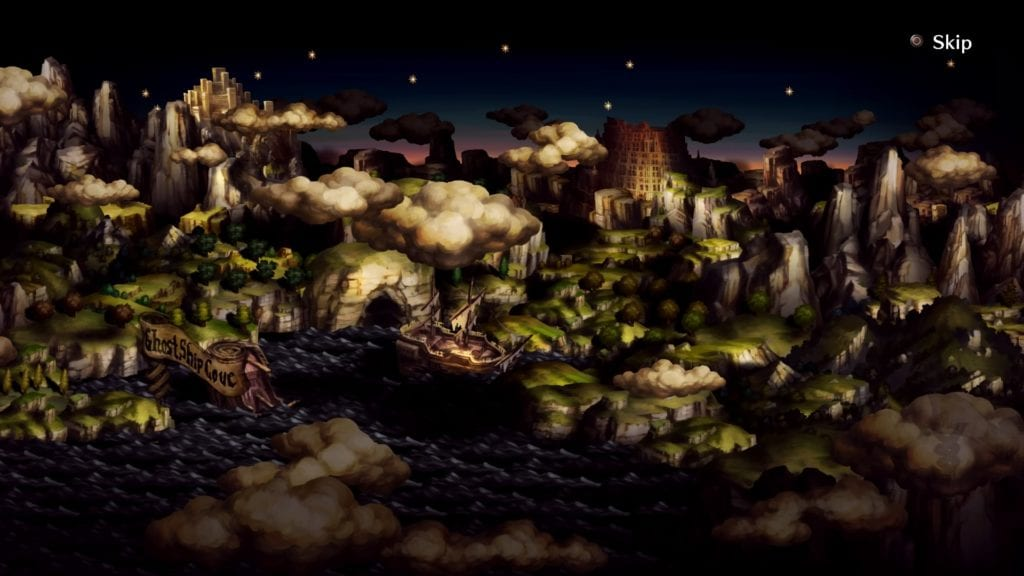 dragon's crown pro panoramic map of Hydeland