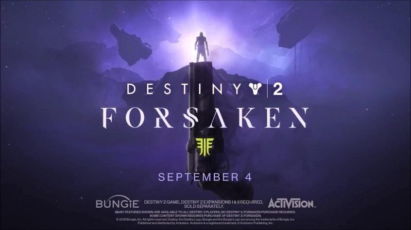 E3 2018 – Destiny 2: Forsaken's story trailer