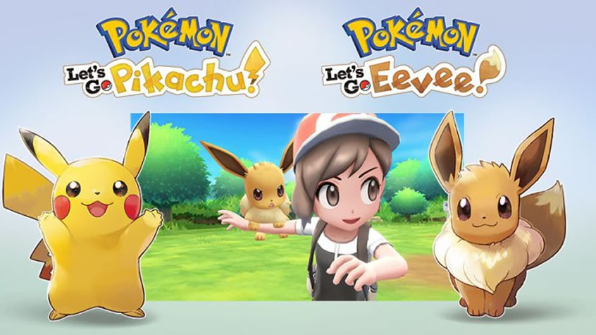 New Trailer For Pokemon Let's Go Pikachu and Eevee Unveiled