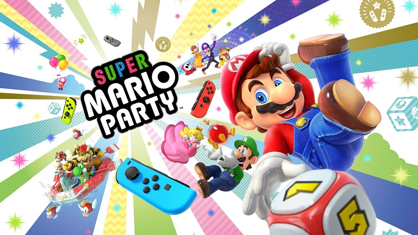 E3 2018: Super Mario Party Available on October 5th 2018