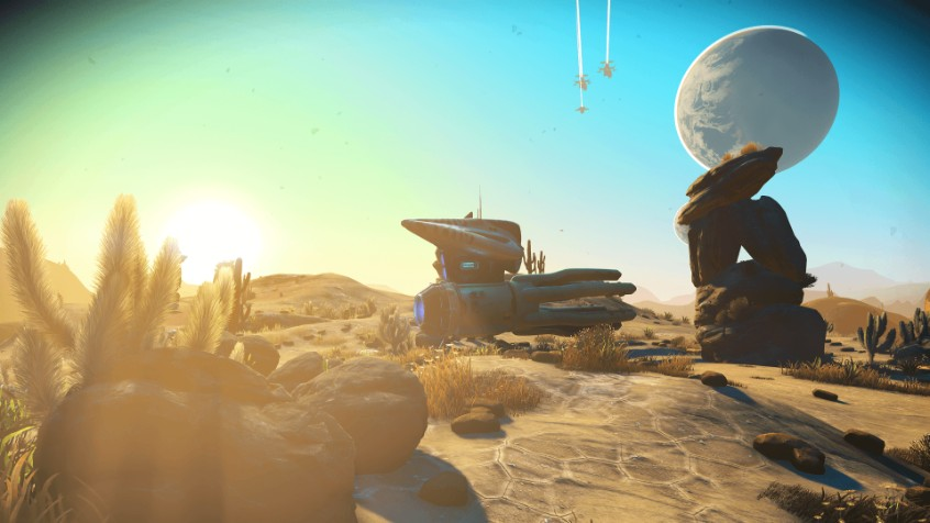 Beautiful environment from No Man's Sky Next
