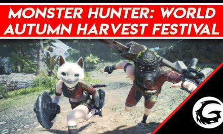 Monster Hunter: World – Autumn Harvest Festival