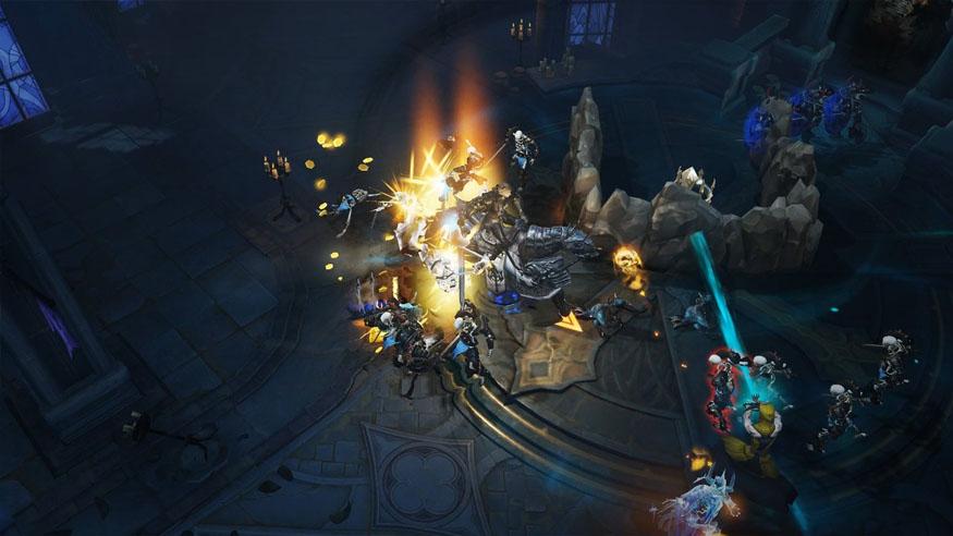 Killing demons in Diablo Immortal