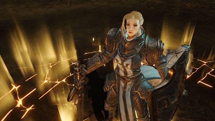 Crusader from Diablo Immortal