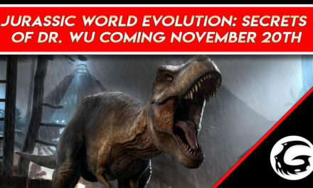 Jurassic World Evolution: Secrets of Dr. Wu Coming November 20th