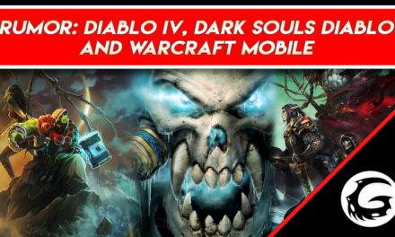 Rumor: Diablo IV codenamed Fenirs – Dark Souls Diablo Canned and Warcraft Go