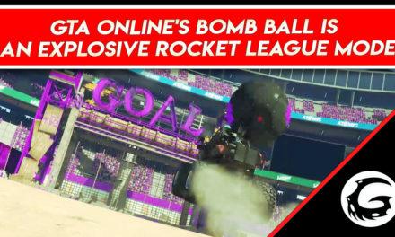 GTA Online's Bomb Ball Is An Explosive Rocket League Mode