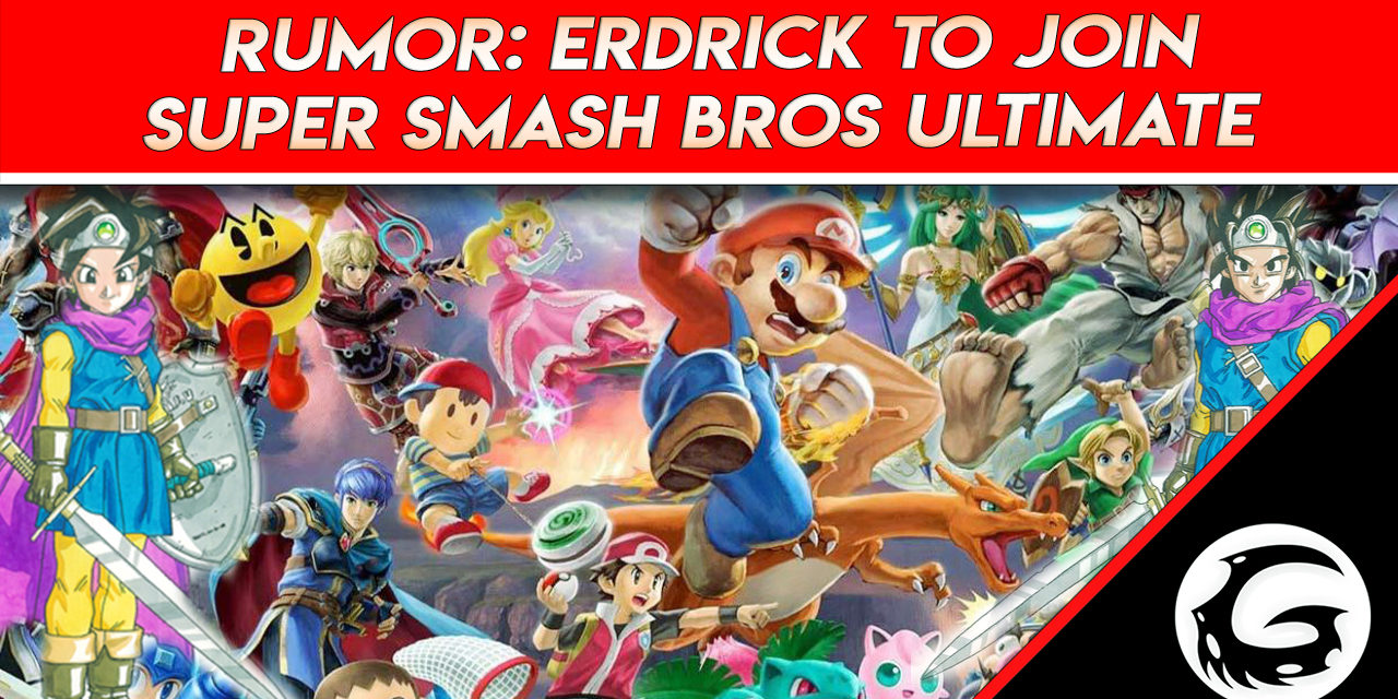 Rumor: Erdrick Is the Next DLC Fighter To Join Super Smash Bros Ultimate