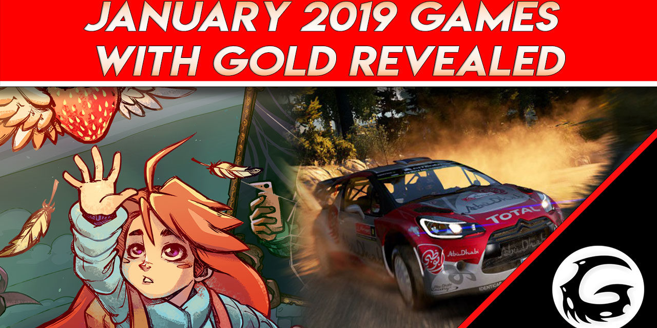 January 2019 Games with Gold Revealed