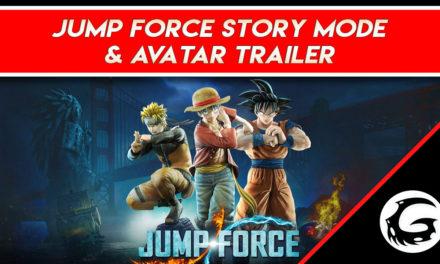 Jump Force Story Mode & Avatar Trailer