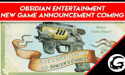 Obsidian Entertainment to Reveal a New Game at the upcoming Game Awards