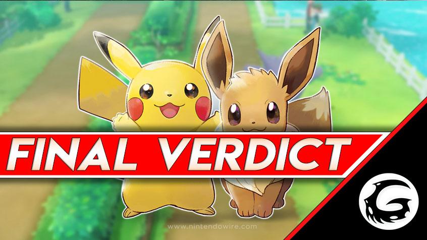 Pokemon Let's Go, Eevee! Review