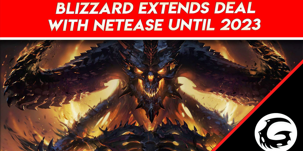 Blizzard Extends Deal With NetEase Until 2023