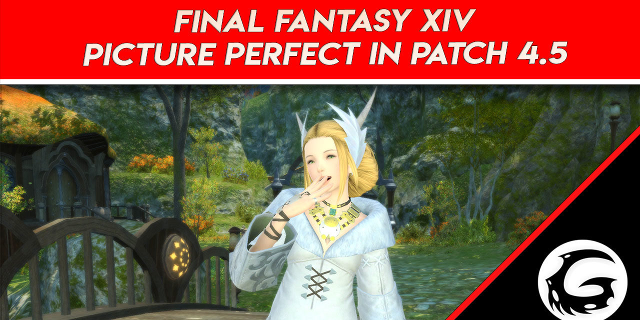 Final Fantasy XIV Picture Perfect in Patch 4.5