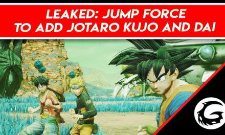 Leaked: Jump Force To Add Jotaro Kujo and Dai