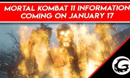 Mortal Kombat 11 Information Coming on January 17